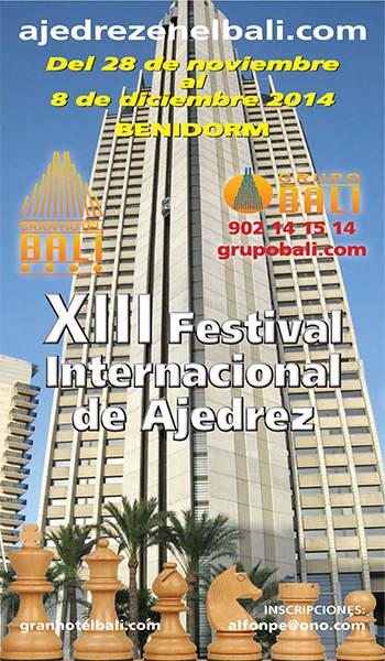 IV FESTIVAL INTERNACIONAL DE AJEDREZ, BENIDORM 2005