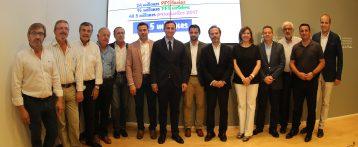 La Diputación de Alicante impulsa un plan de inversiones con 15 millones de euros y más de 80 actuaciones para vertebrar el territorio
