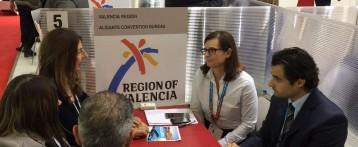 La Diputación y el Ayuntamiento de Alicante promocionan conjuntamente el ADDA como Centro de Congresos en la Feria IBTM World de Barcelona