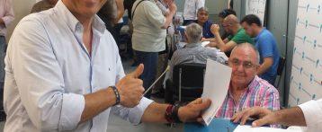 Toño Peral es elegido nuevo presidente del PP de Alicante por aplastante mayoría