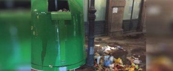 Denuncian que hay cucarachas por la Rambla y mucha basura amontonada en la Explanada de Alicante