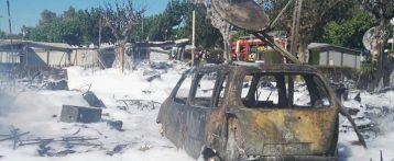 Una herida al explosionar la cocina de una caravana en un cámping de Benidorm