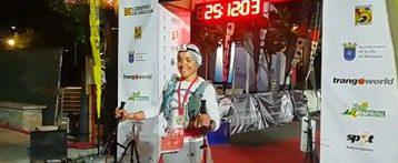 La atleta almanseña Belén Rodríguez Doñate entra segunda en el Gran Trail Aneto-Posets con 105 km de recorrido