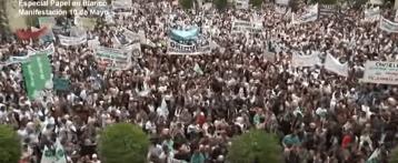Papel en Blanco – Especial manifestación 10 de Mayo Alicante