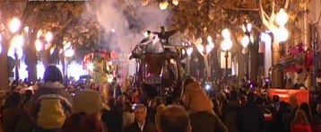 Desfile de Carnaval Alicante 2015 Carros de Foc y Can Can