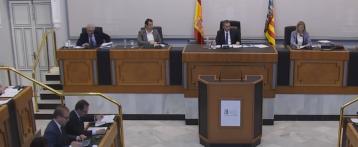 La Diputación de Alicante rechaza el crédito del IVF para adherirse al Fondo de Cooperación Municipal de la Generalitat
