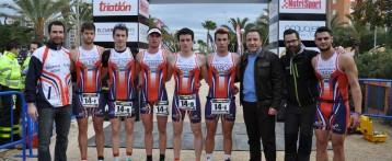 El club Triatlón Tecnificación Torrevieja y la Universidad de Alicante, ganadores del duatlón Duwhite Cup 2014