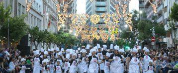 Desfile del ninot de las hogueras de San Juan de Alicante 2019