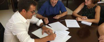 El Ayuntamiento de Los Montesinos e HIDRAQUA firman un Convenio de Colaboración para la promoción y sensibilización en materia de Igualdad