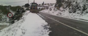 El Consorcio de Bomberos de Alicante refuerza sus medios en las Marinas y en l´Alcoià-Comtat para atender las posibles incidencias por el temporal de nieve