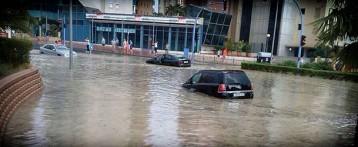 Benidorm restablece en tiempo récord la normalidad tras las lluvias torrenciales