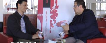 Café con… Marcos Chicot, escritor