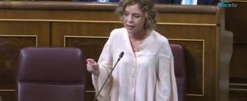 La Diputada de Cs Marta Martín denuncia en el Congreso la política educativa de chantaje del Conseller Marzá
