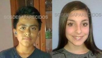 Buscan a Brando y Melisa, dos menores de 13 años desaparecidos en Valencia desde el sábado