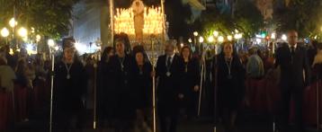 """Procesiones de """"Nuestro Padre Jesús del Gran Poder"""" y """"Nuestra Señora de la Esperanza"""" de Alicante"""