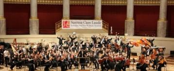 Más de 150 jóvenes músicos alicantinos viajan a Viena como única representación española en el concurso mundial de orquestas jóvenes