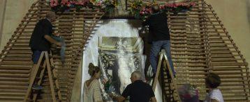 Ofrenda de Flores al Cristo de la Paz de Sant Joan d'Alacant