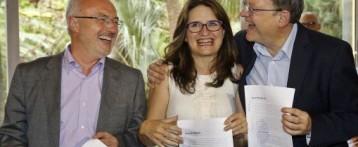 L'abstenció del PSOE tensa les relacions del tripartit valencià. Podem CV crea una comissió de vigilància per al Pacte del Botànic