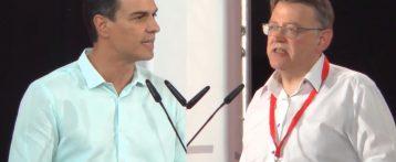 Los 'sanchistas' exigen el 42% de representación en el Comité Nacional del PSPV-PSOE