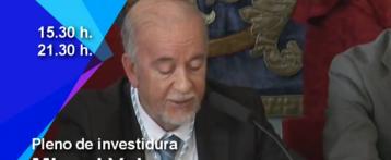 Pleno de Investidura de Miguel Valor como Alcalde de Alicante en 12tv