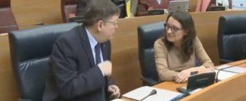 Las discrepancias entre PSPV y Compromís tensan las relaciones entre los miembros del gobierno valenciano