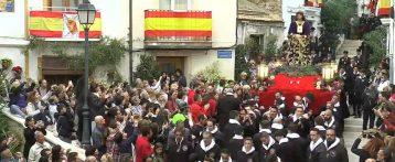 Bajada de la Procesión de Santa Cruz de Alicante 2019