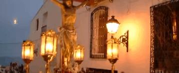 Procesion del Santo Entierro en Altea