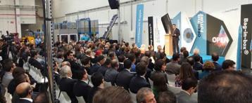 Inauguración, en Ibi, de la nueva planta de Smurfit-Kappa que creará 60 nuevos puestos de trabajo