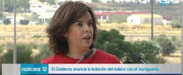 El Gobierno licitará en agosto las obras de acceso al aeropuerto Alicante-Elche
