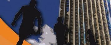 Líderes de la prueba mundial de subida de escaleras participan mañana en la subida al Gran Hotel Bali de Benidorm