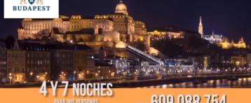La tienda de 12tv presenta 'Estancias en Budapest' para vivir una experiencia inolvidable