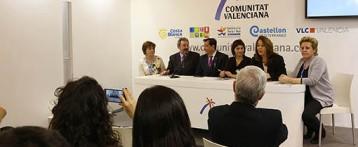 Villena presenta en FITUR su proyecto de AVE en el que se incluyen otros 14 municipios de interior
