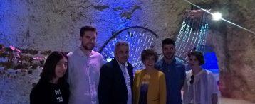 """Inaugurada la exposición """"Aqua Viva"""" de Arquitecturas efímeras en el Museo de Aguas de Alicante"""