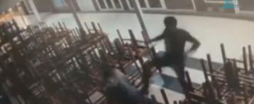Detenido por dar una paliza de 3 minutos a su pareja, de 17 años, en plena calle en Benidorm