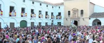 12tv en la Romería de Almansa