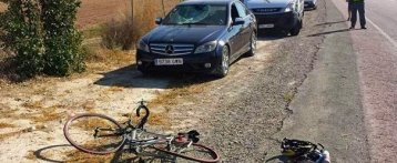 La Guardia Civil busca al conductor que se dio a la fuga tras atropellar a un ciclista de Elche