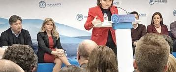 Isabel Bonig admite que a la dirección del PP no le gustó la moción sobre los PGE