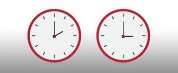 Cambio de hora 2017: en la madrugada del sábado al domingo a las dos serán las tres