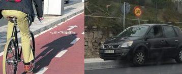 Alicante abre hoy el nuevo carril bici de dos kilómetros de longitud en la Avenida de Elche enmedio de la polémica sobre la poca anchura de la carretera