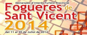 Hogueras de san Vicente del raspeig 2014