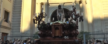 Procesiones del Lunes Santo en Alicante: El Cristo del Morenet y el Santísimo Cristo de la humildad y la paciencia