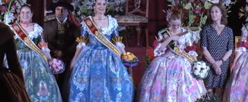 Sant Vicent del Raspeig proclama Belleses del Foc a Sonia Granja i Carmen Sánchez, actuant com a mantenidor el periodista José Ángel Ponsoda