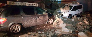 La intensa lluvia en Alicante provoca destrozos, inundaciones y un herido leve