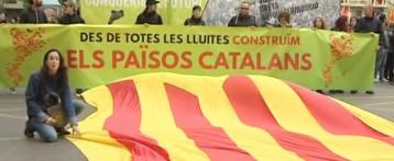 La manifestacióndel 25 de abril en Valencia se tiñe de independentismo catalán