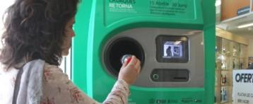 La Generalitat pondrá máquinasde reciclaje con sistema de depósito y devolución de envases