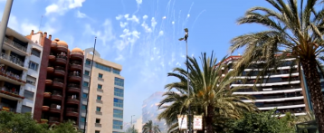 Mascletà Fogueres d'Alacant del 20 de juny