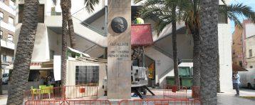 Retiran el monolito de José Antonio Primo de Rivera en Crevillent