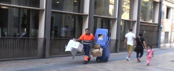 Tregua en la huelga parcial del personal de limpieza en Alicante