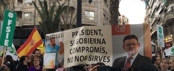 Miles de padres exigen en Alicante derogar el decreto de Marzà por discriminar el castellano