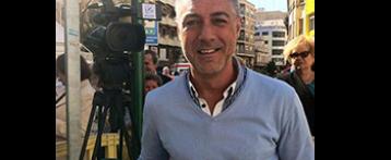 Grabando con José Ángel Ponsoda
